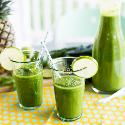 Pineapple Mojito from simplegreensmoothies.com